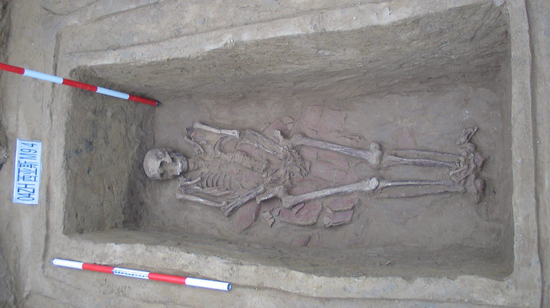 Zhou burial site