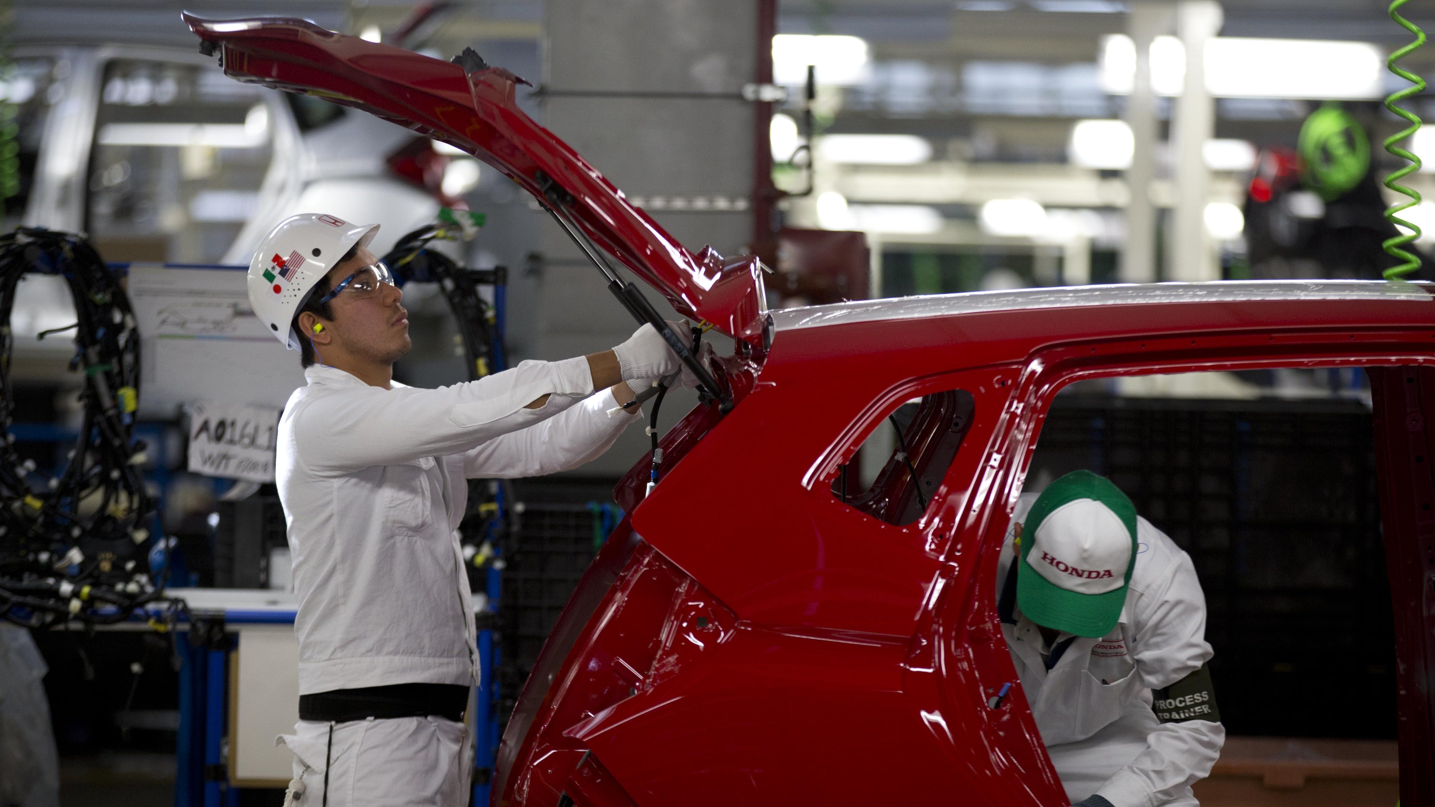 Auto manufacturing in Mexico