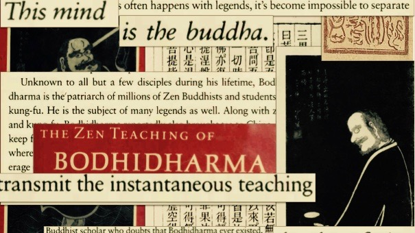 Boddhidharma Collage.