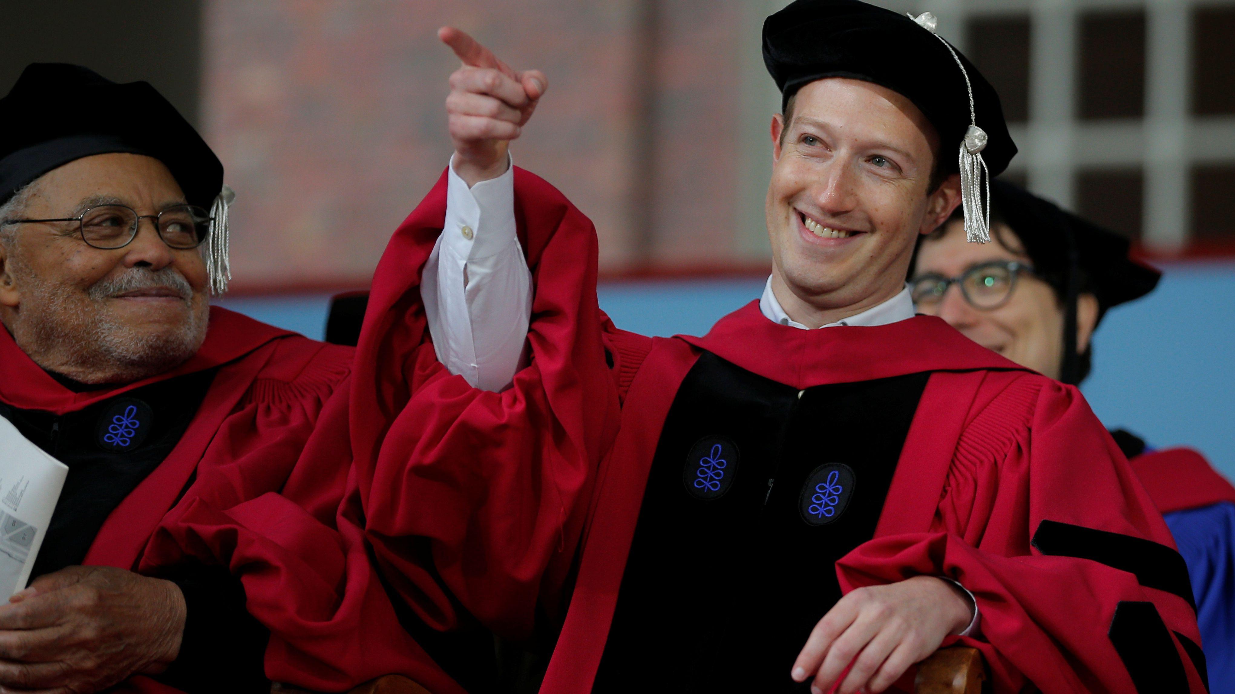 Mark Zuckerberg Harvard Facebook