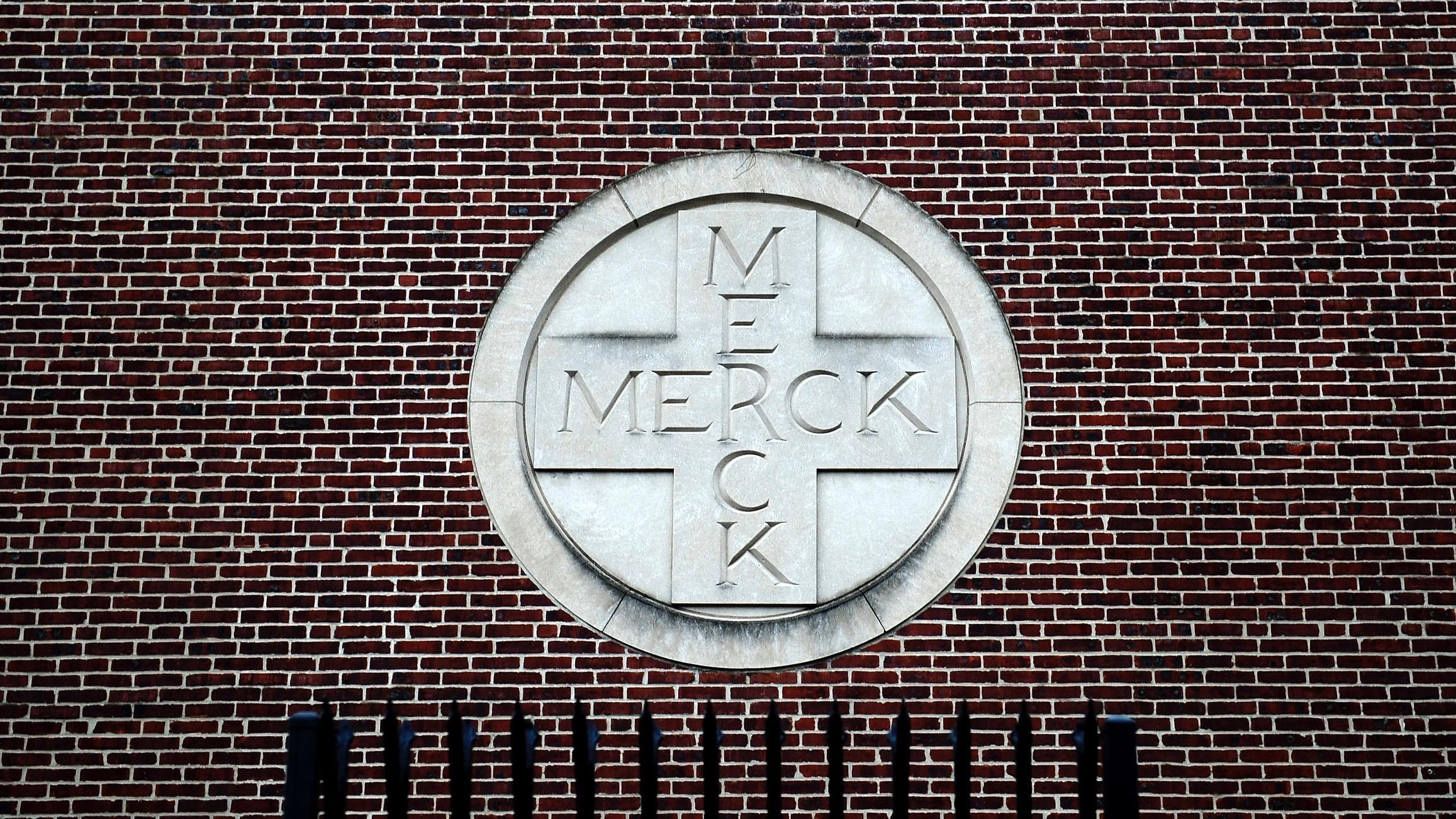 Merck & Co. campus in Linden, New Jersey.