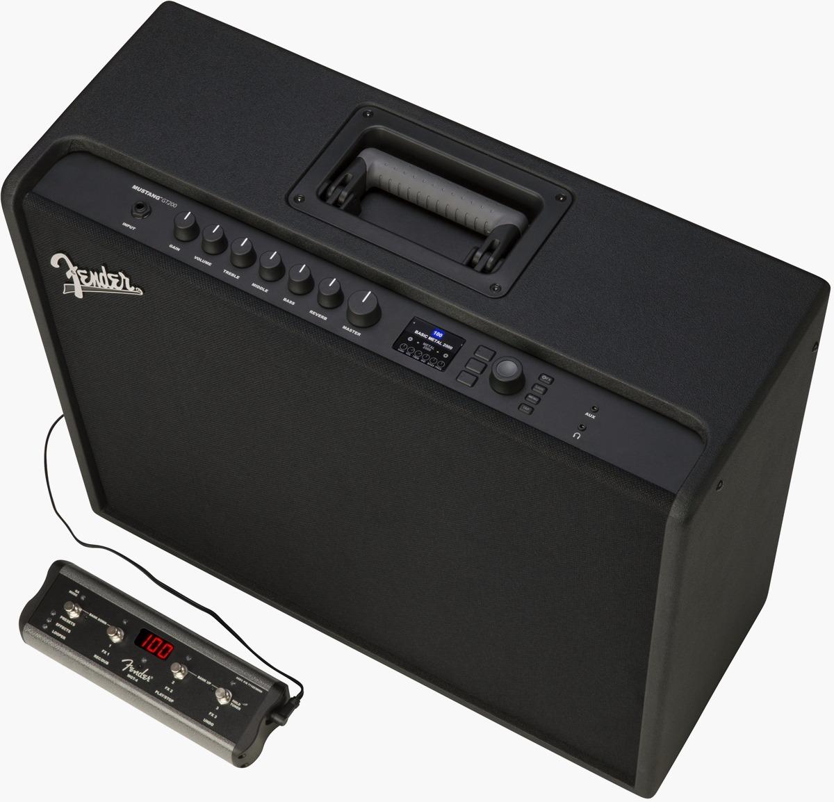 Fender's Mustang GT is the Tesla of guitar amplifiers: It