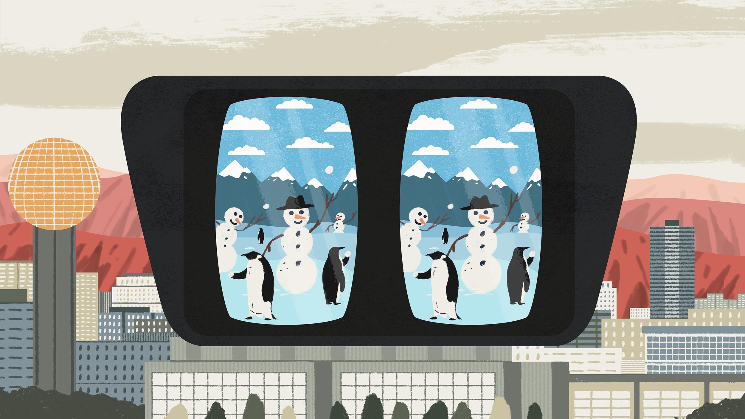 snowmen vr
