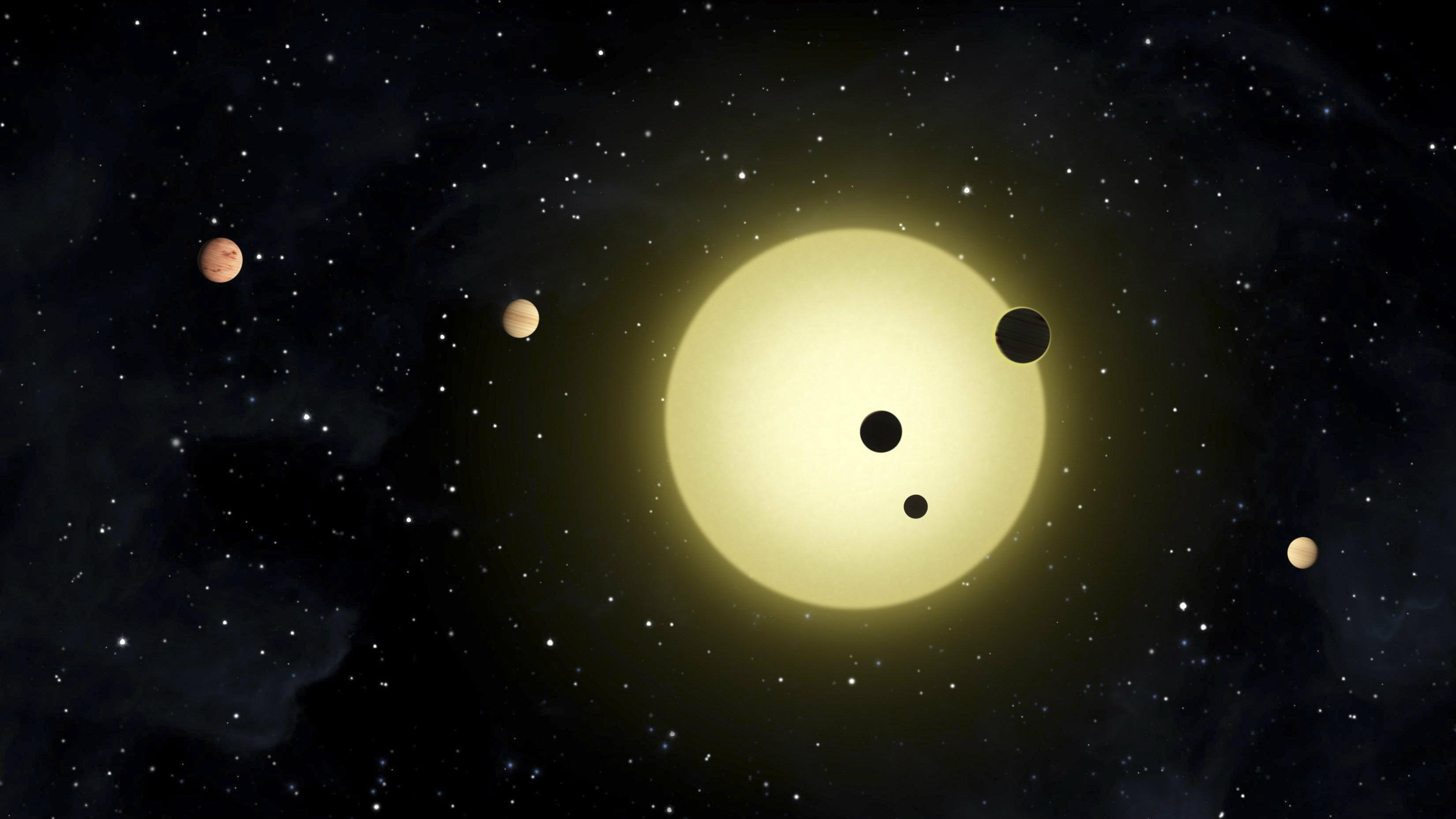 planets around a star
