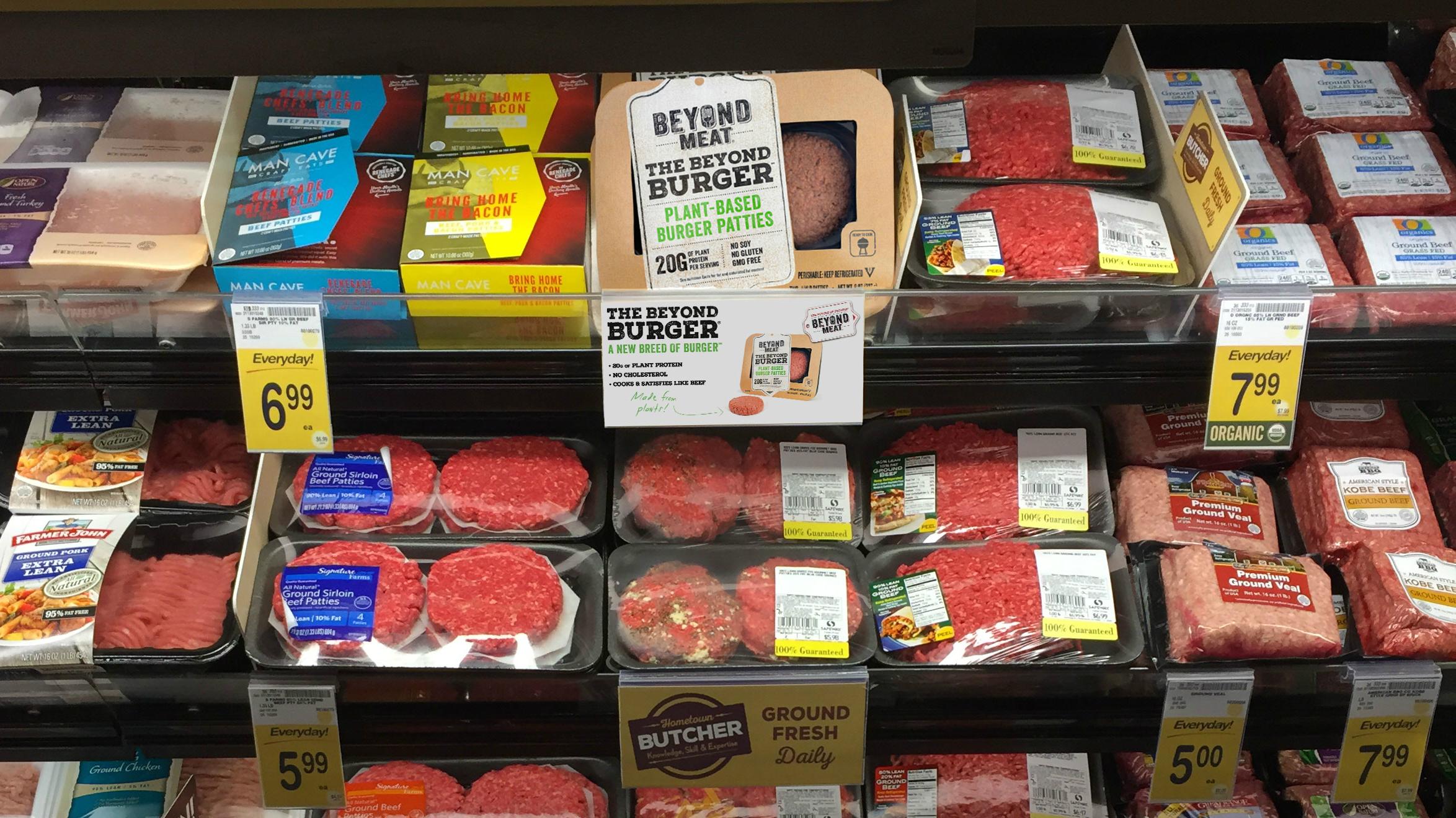 Meat disruptors.