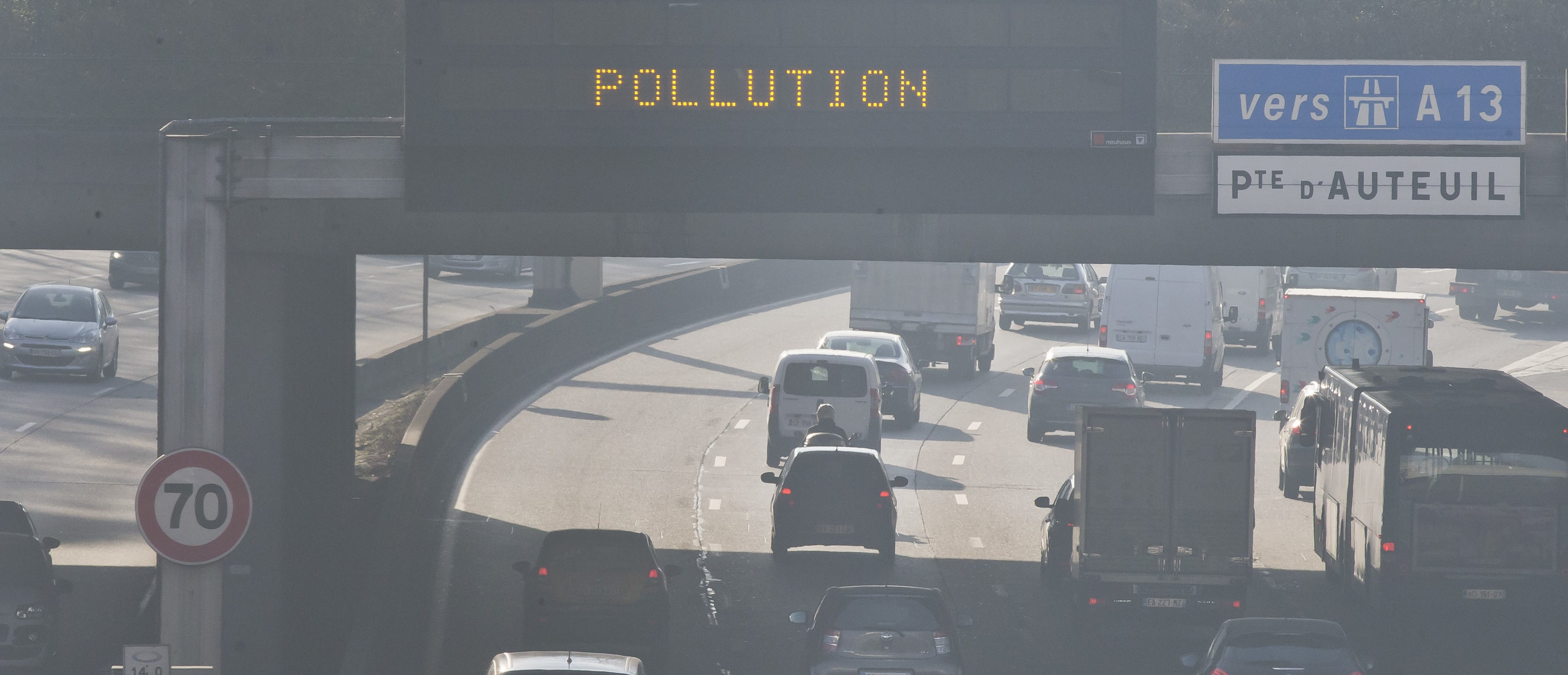 Air pollution in France