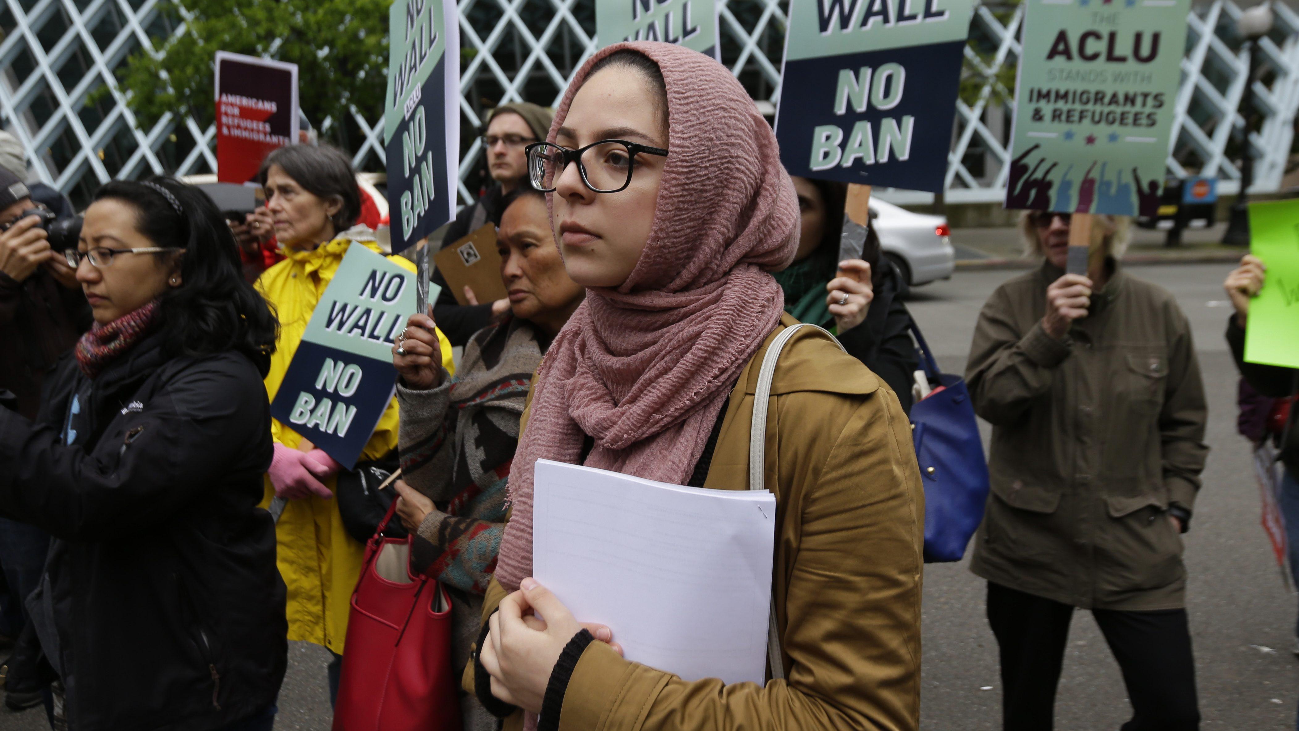 Court Halts Trump Travel Ban