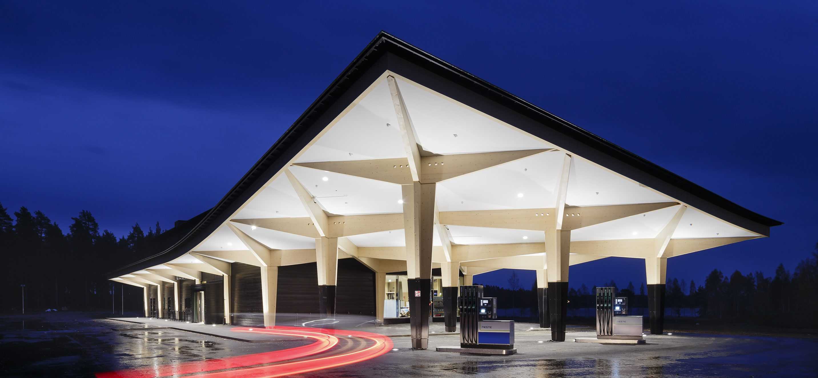 The 10 Most Beautiful Gas Stations In World Ranked