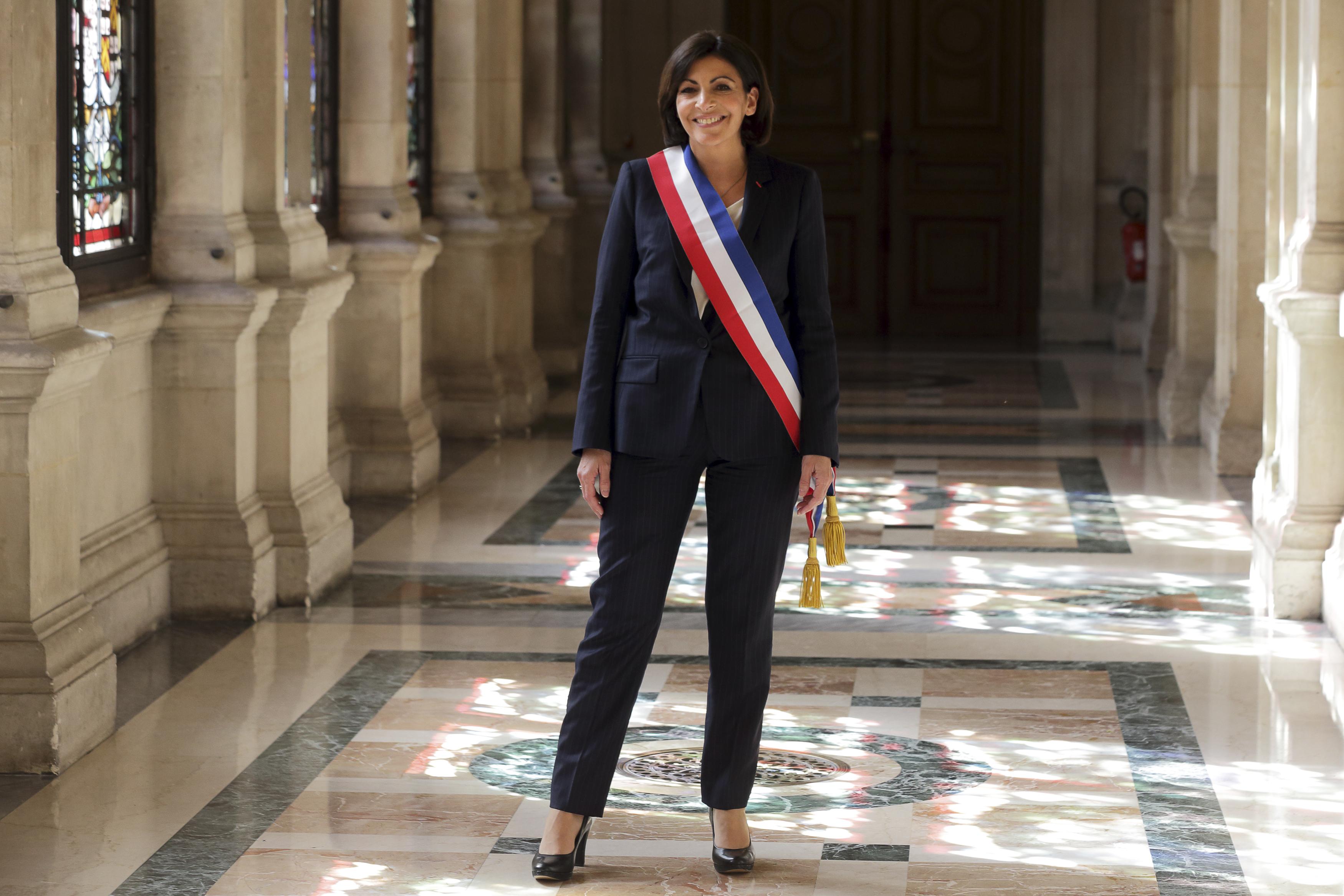 Anne Hidalgo, French Socialist party Paris Mayor