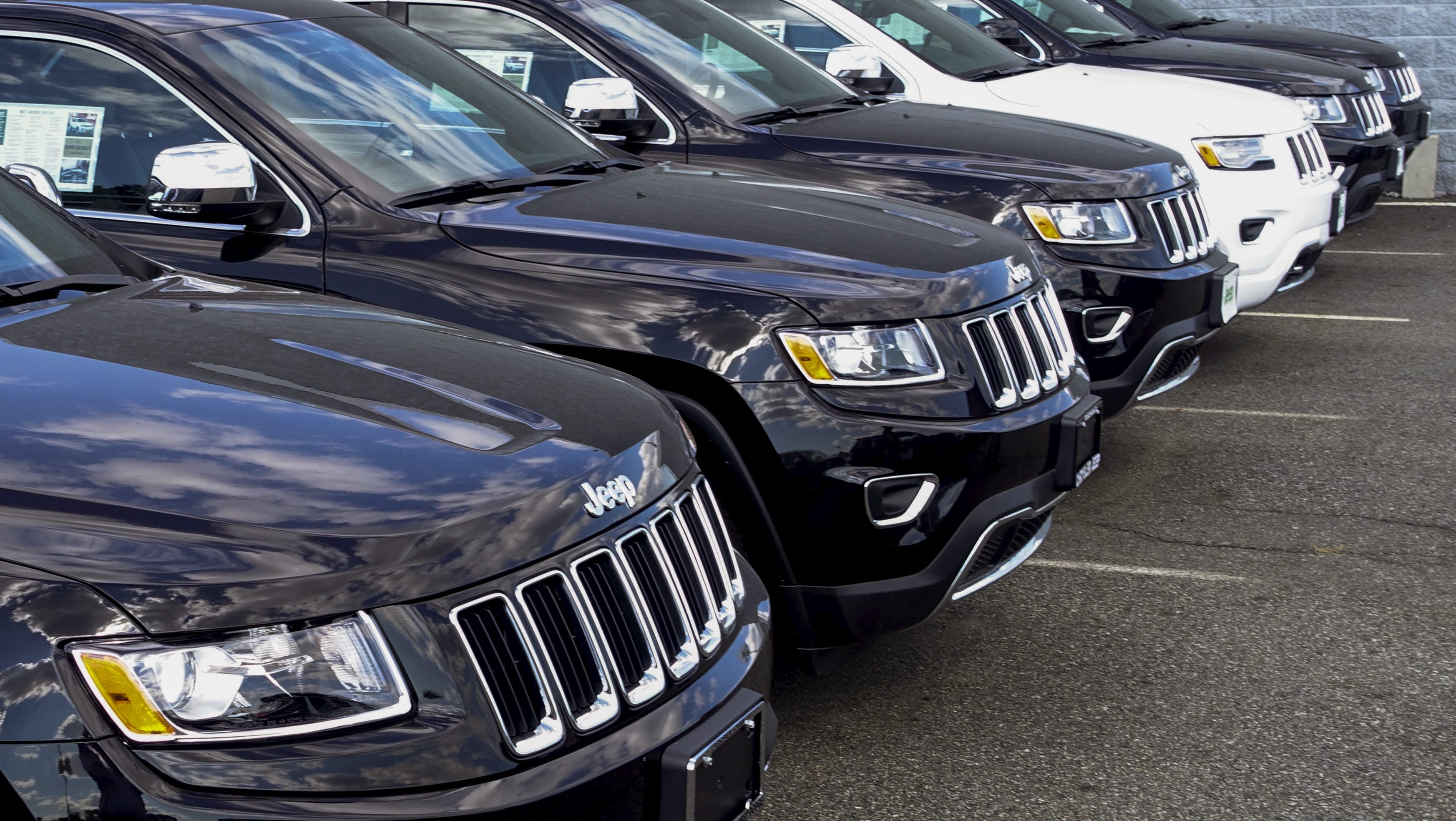These 2015 Jeep Grand Cherokees may look harmless, but the US says they are loaded with emissions cheating software
