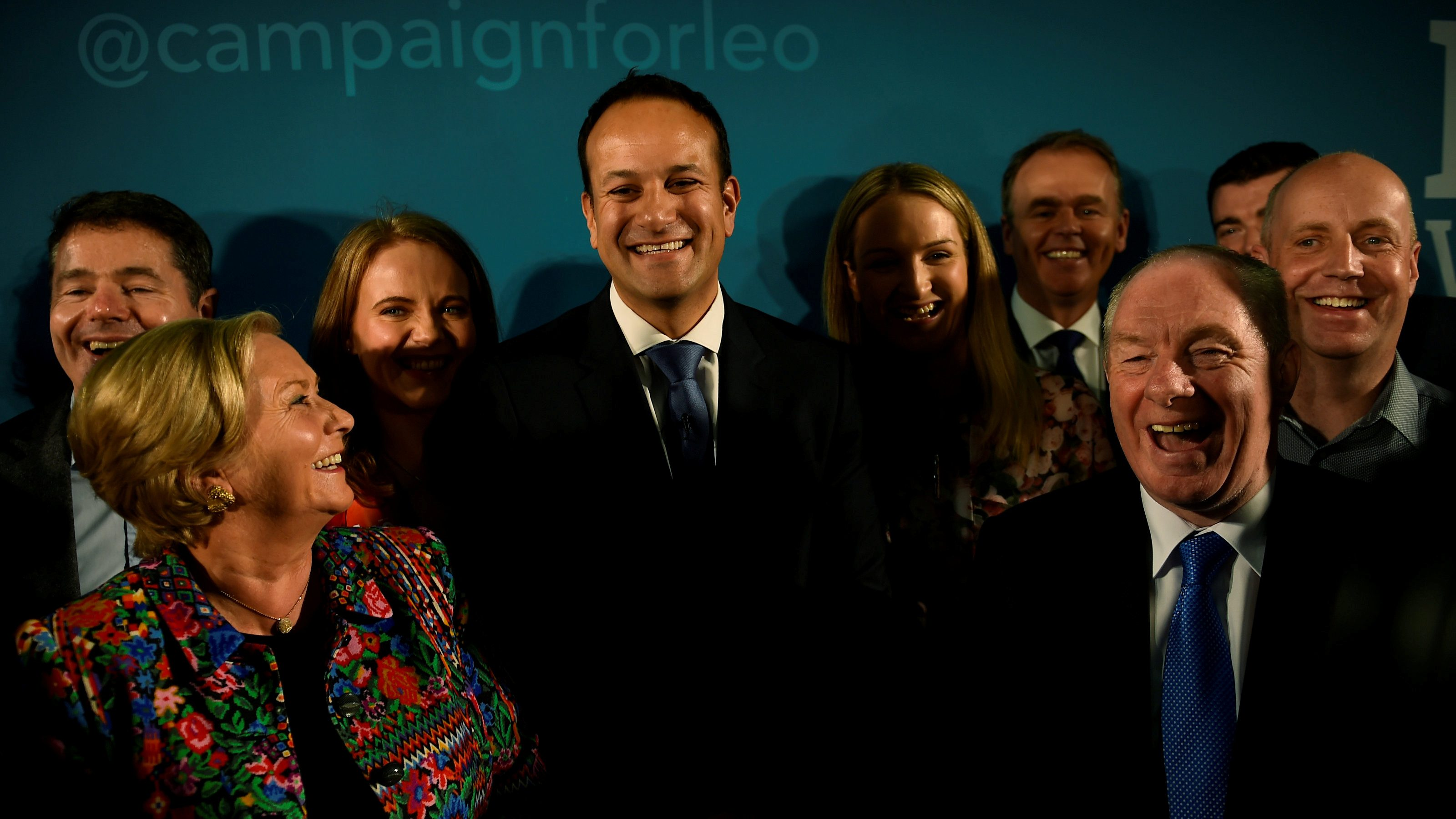 Ireland's Minister for Social Protection Leo Varadkar launches his campaign.