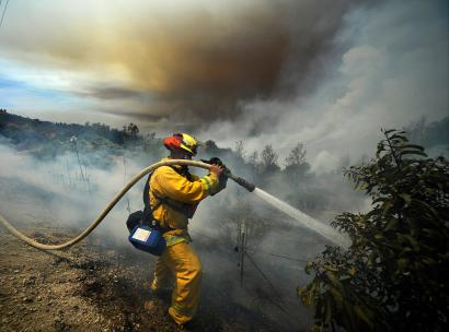 How US wildland firefighters will battle the blazes of the