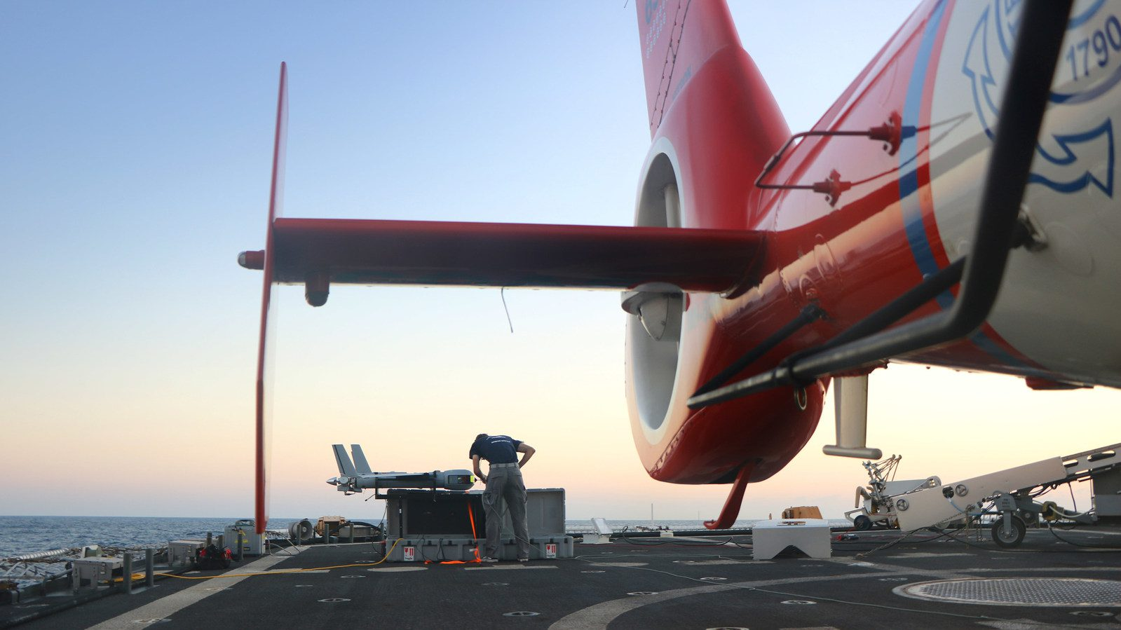 Insitu's ScanEagle unmanned air vehicle helped theUS Coast Guard intercept more than six tons of cocaine during a recent deployment aboard USCGC STRATTON. The event marked the first time a USCG cutter used a small UAS for an entire patrol. (PRNewsfoto/Insitu)