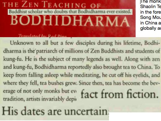 Legendary Zen master or myth?