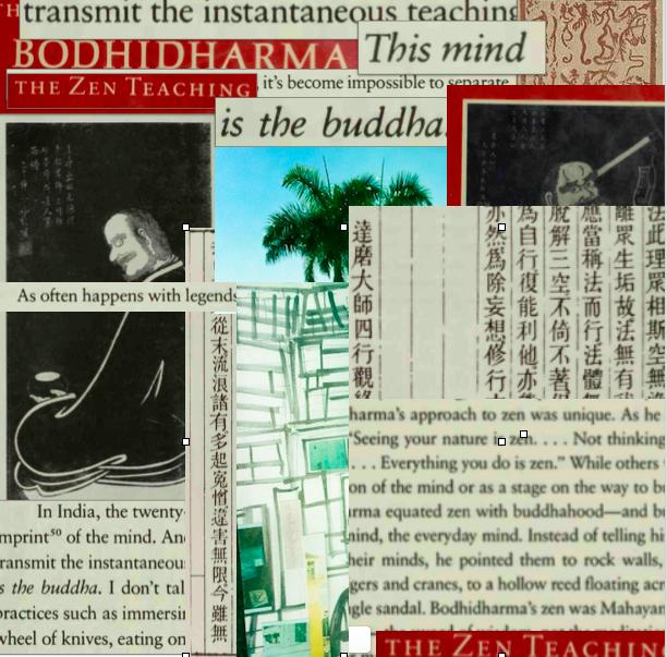Hamlin dada collage.