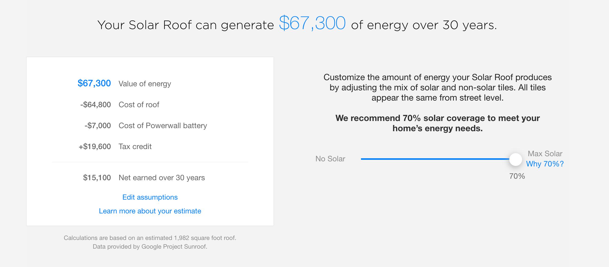 Tesla Solar Roof Calculator >> Tesla Is Releasing A Solar Roof Calculator So You Can Make Money