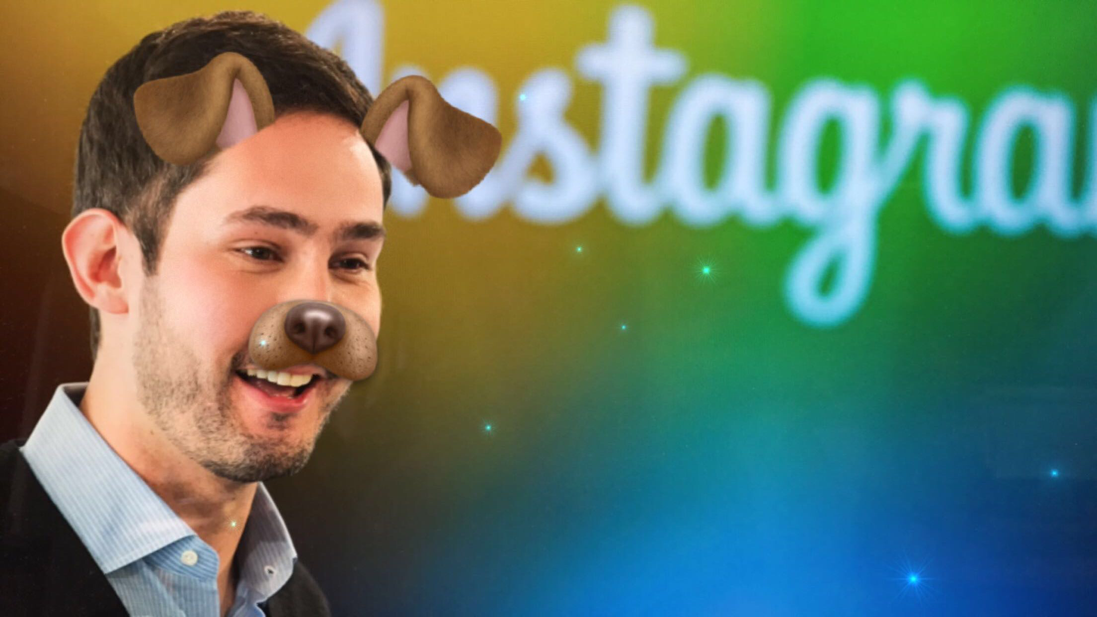 Instagram CEO and co-founder Systrom smiles during the launch of Instagram Direct in New York