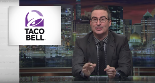 John Oliver speaking about the comparison of DaVita, a for-profit dialysis company, to Taco Bell, by the company's former CEO.