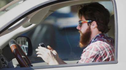 Texting and driving - phones in cars
