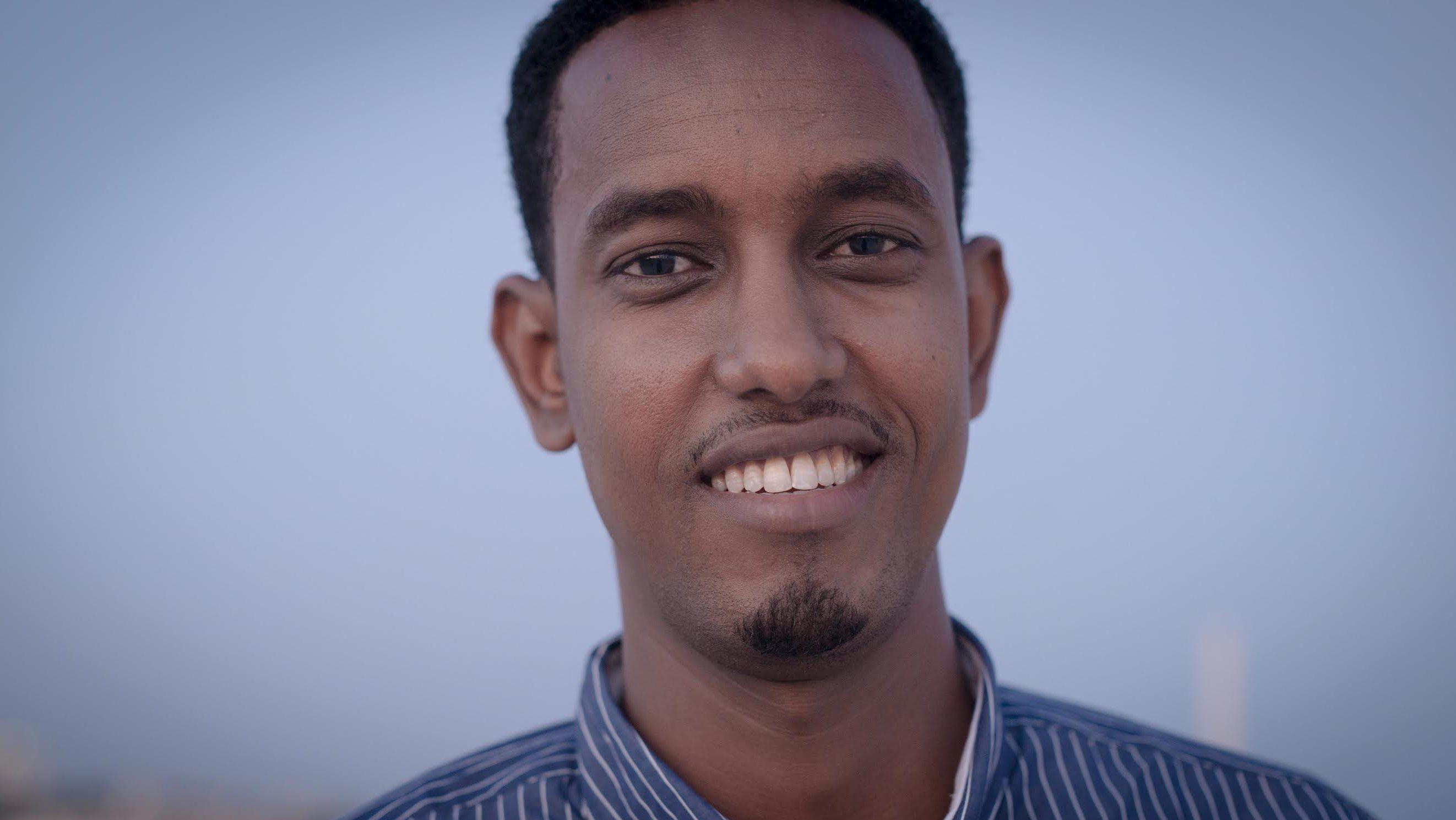 Abass Abdullahi Sheikh Siraji, Somalia's youngest cabinet member.