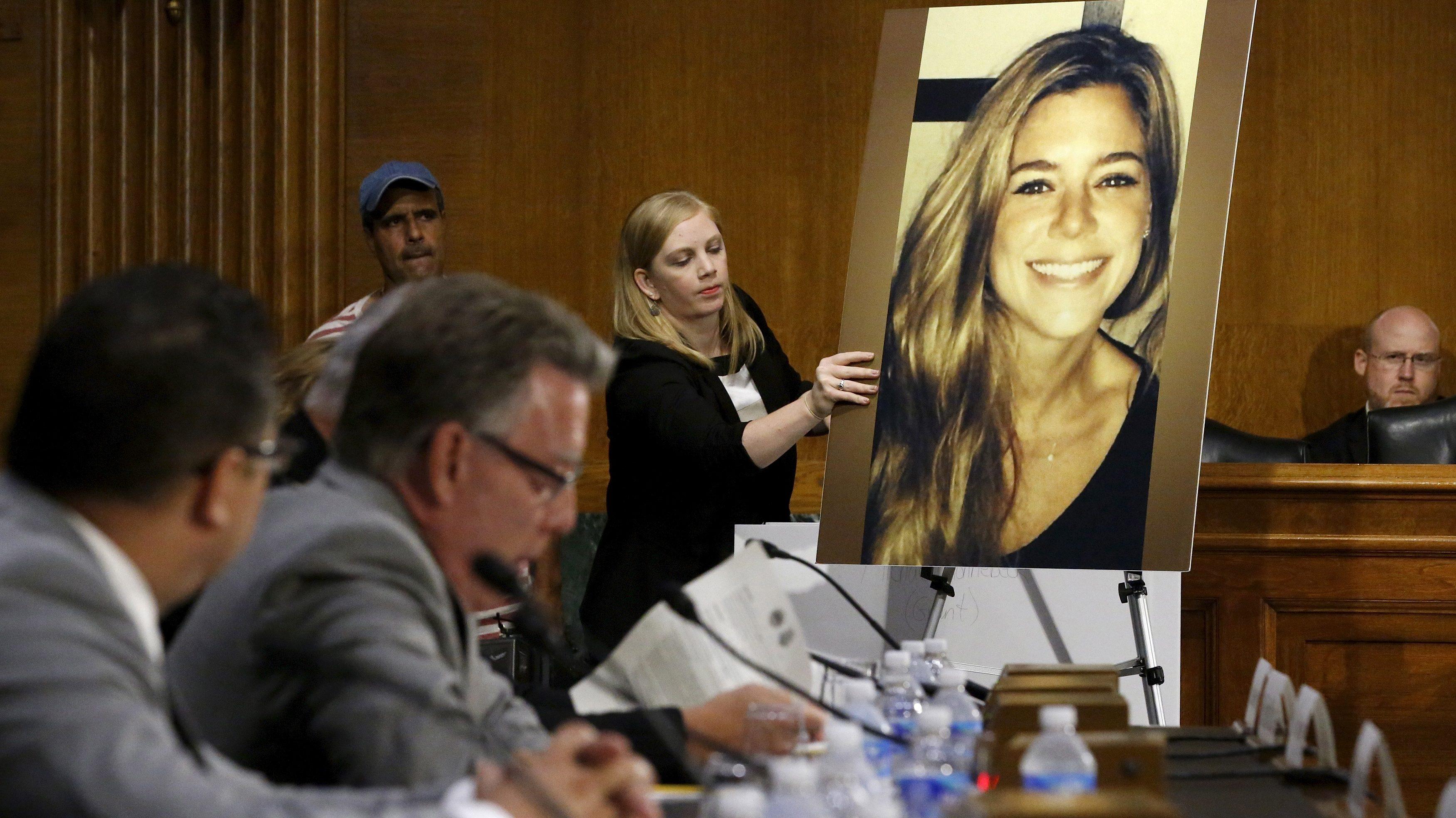 A photo of victim Kathryn Steinle