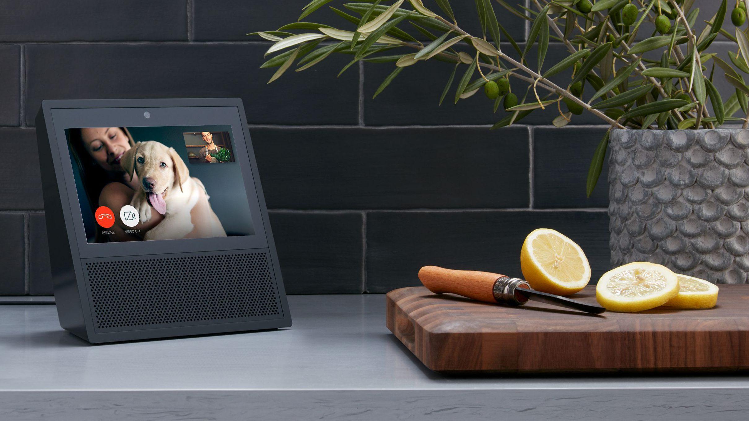 Amazon Echo Show, Black, Counter