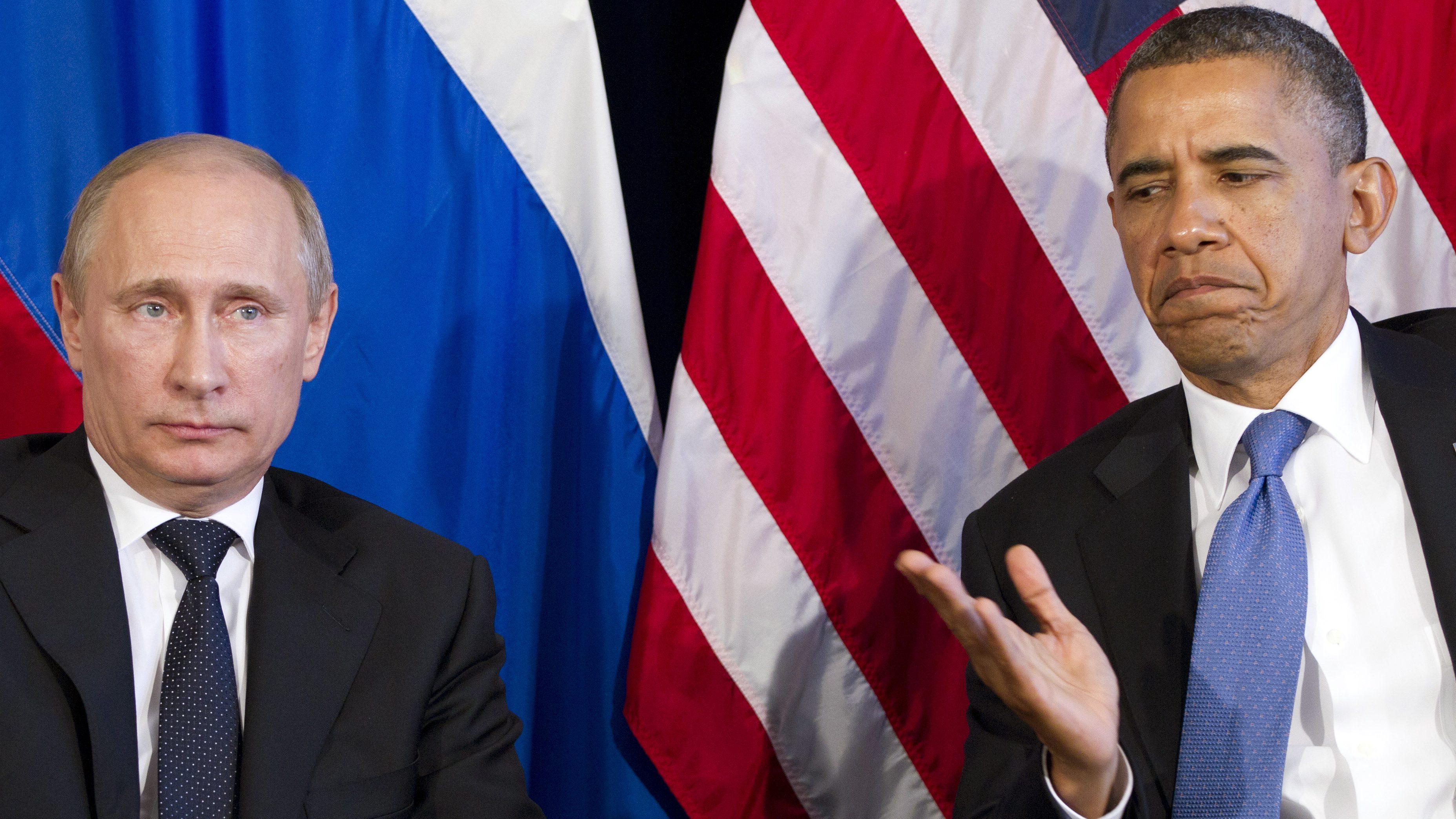 Putin and Trump call each other Vladimir and Barack
