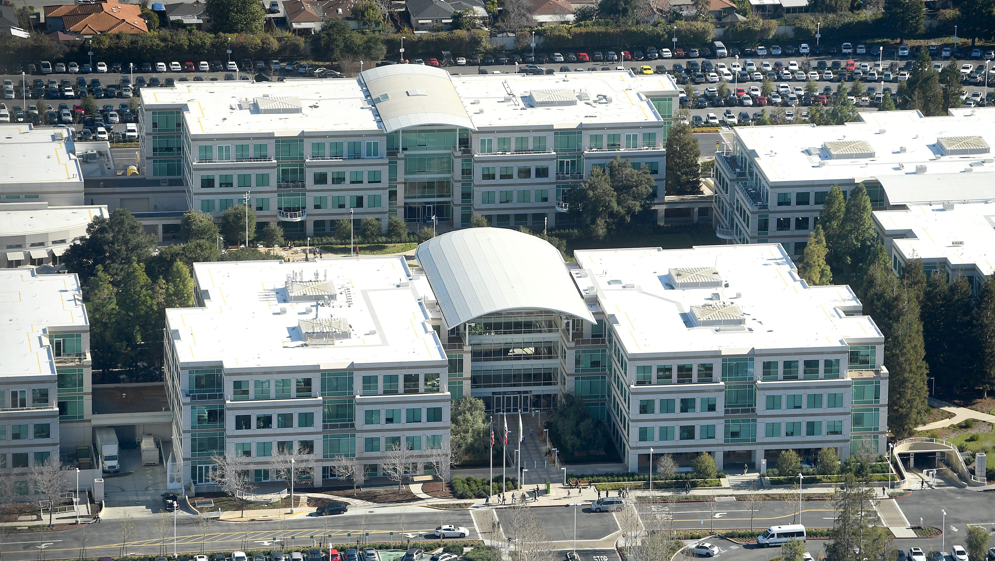 Apple's headquarters in Cupertino, California.