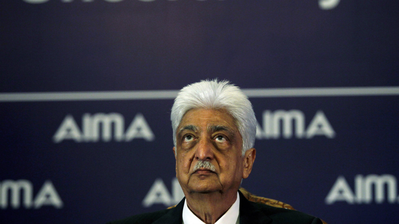 Wipro Chairman Azim Premji attends the 40th National Management Convention organised by All India Management Association in New Delhi September 26, 2013.