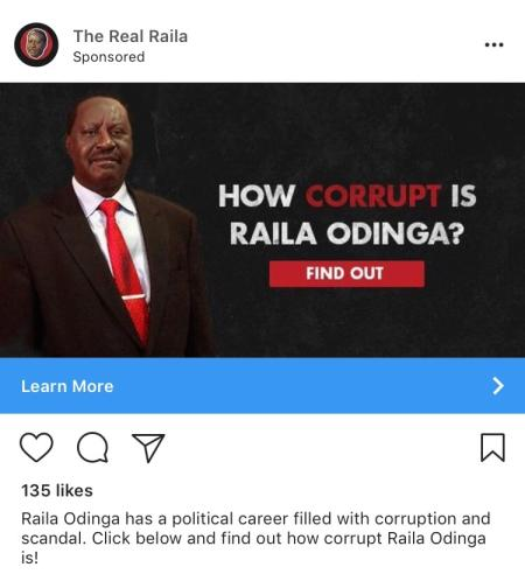 Raila Odinga and Uhuru Kenyatta are being hit by fake news