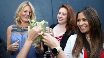 LOS ANGELES, CA - JUNE 08: Guests attend cocktails at goop-in@Nordstrom at The Grove hosted by Gwyneth Paltrow, Olivia Kim & Rick Caruso on June 8, 2017 in Los Angeles, California. (Photo by Phillip Faraone/Getty Images for goop)