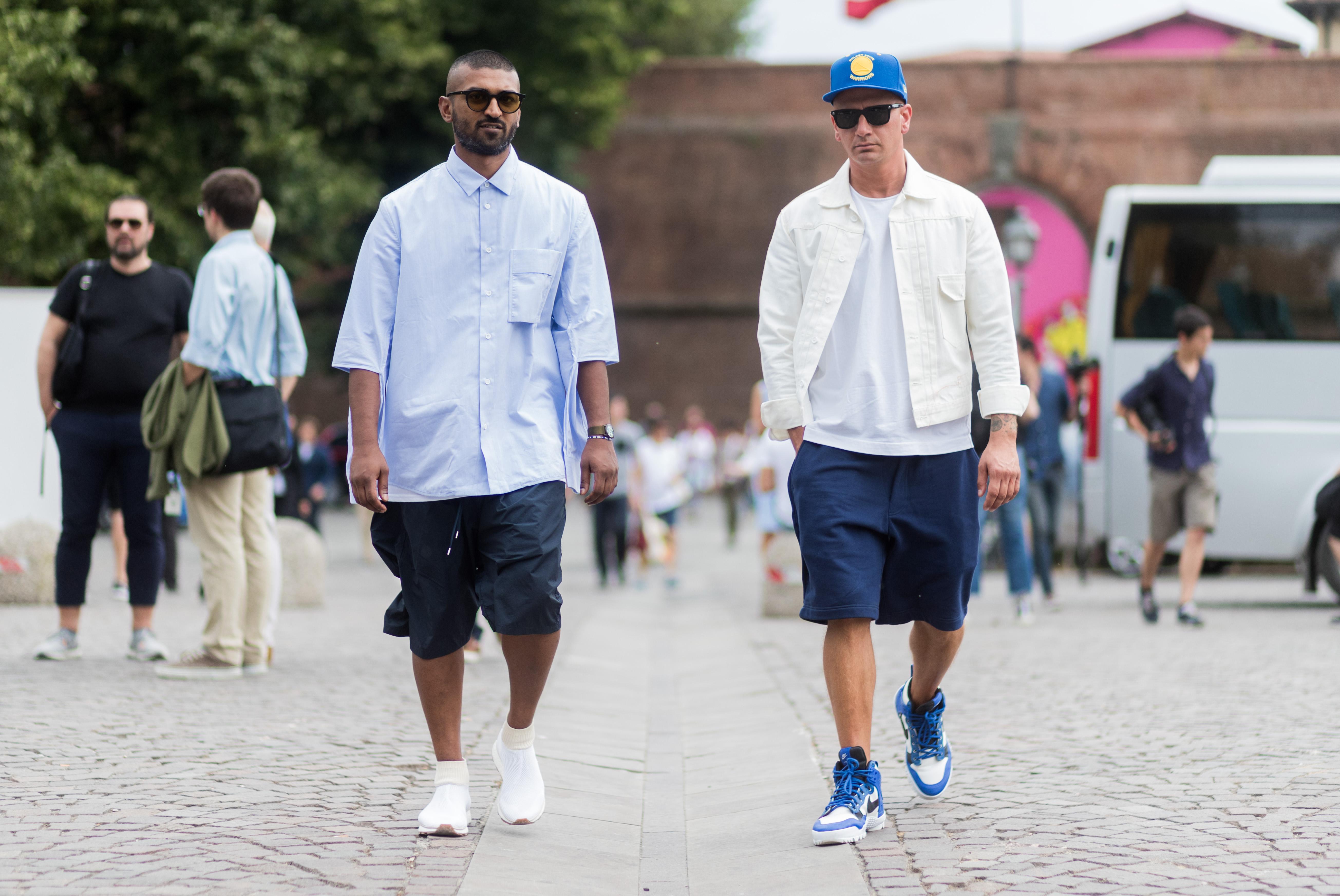 3411747ffee2 Summer fashion  Stop hating on men in shorts — Quartz