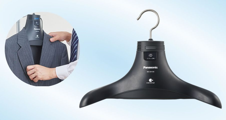 Panasonic's deodorizing hanger