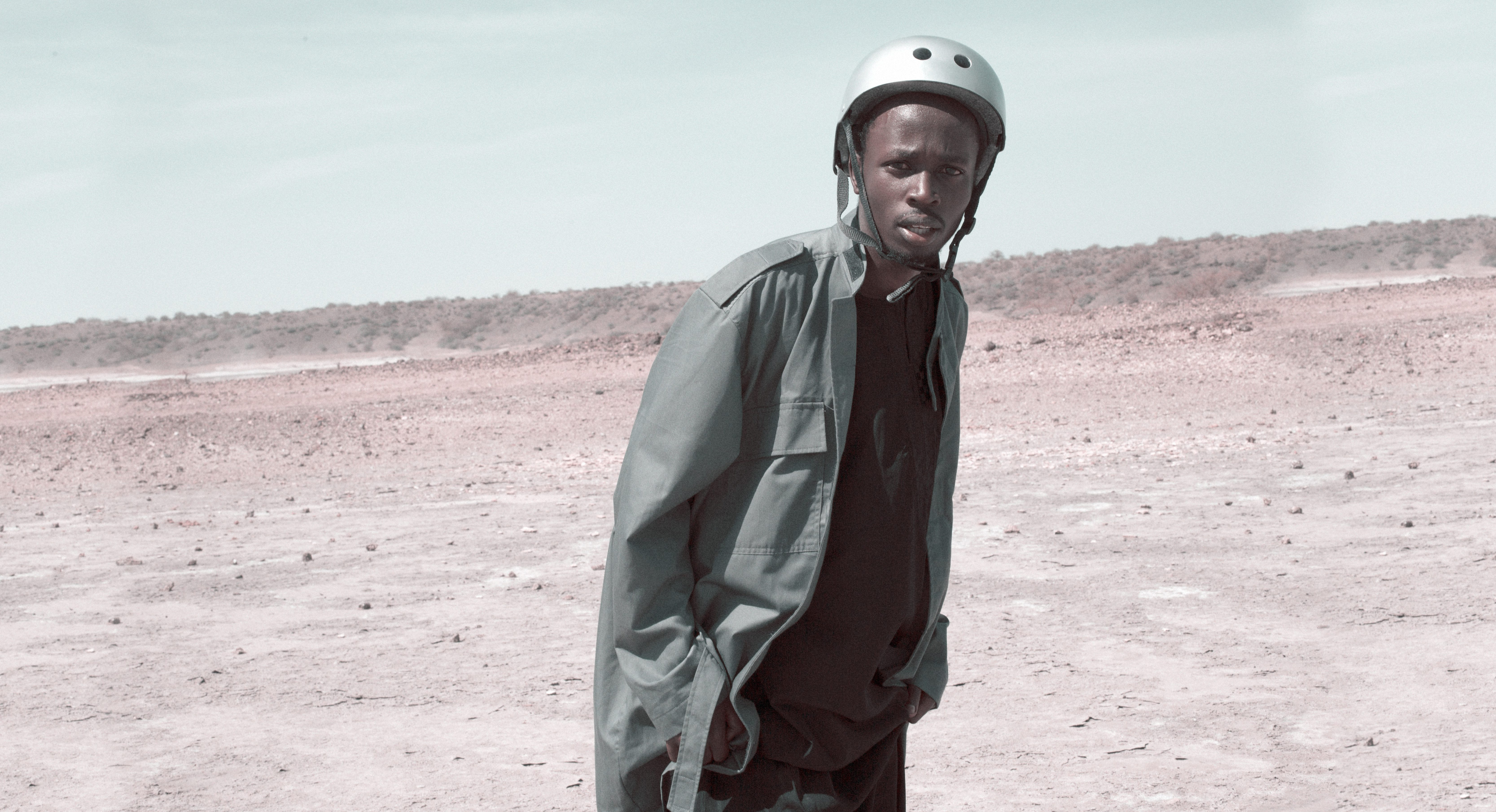 """A shot of the virtual reality film """"Let this be a warning"""" from The Nest Collective in Kenya."""