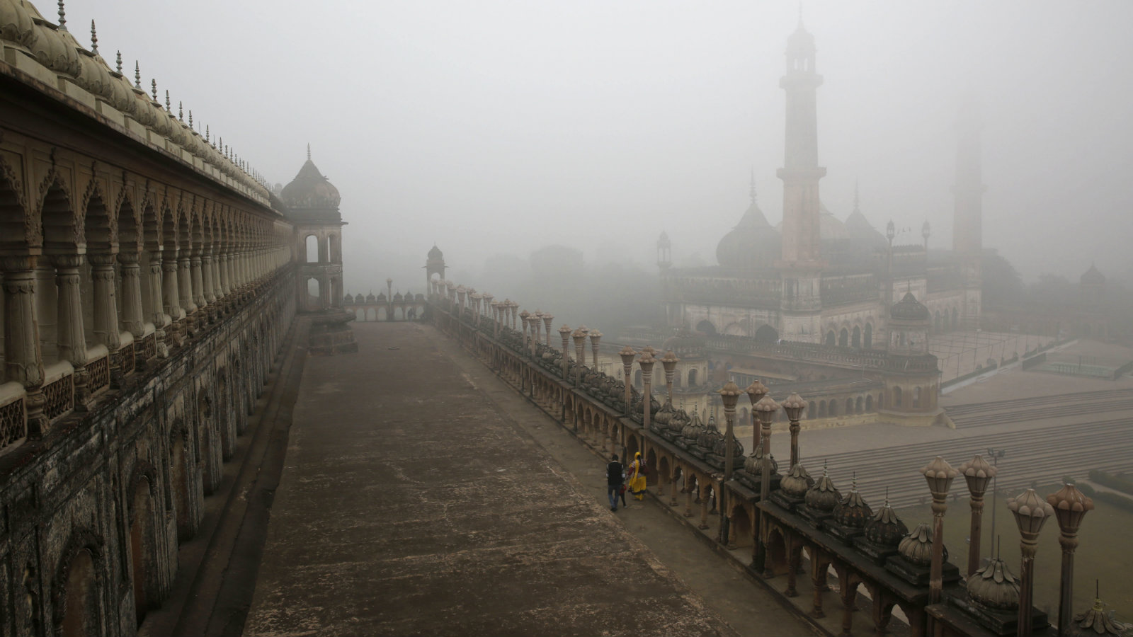 The Bara Imambara in Lucknow. The city was the epicentre of Awadhi culture.