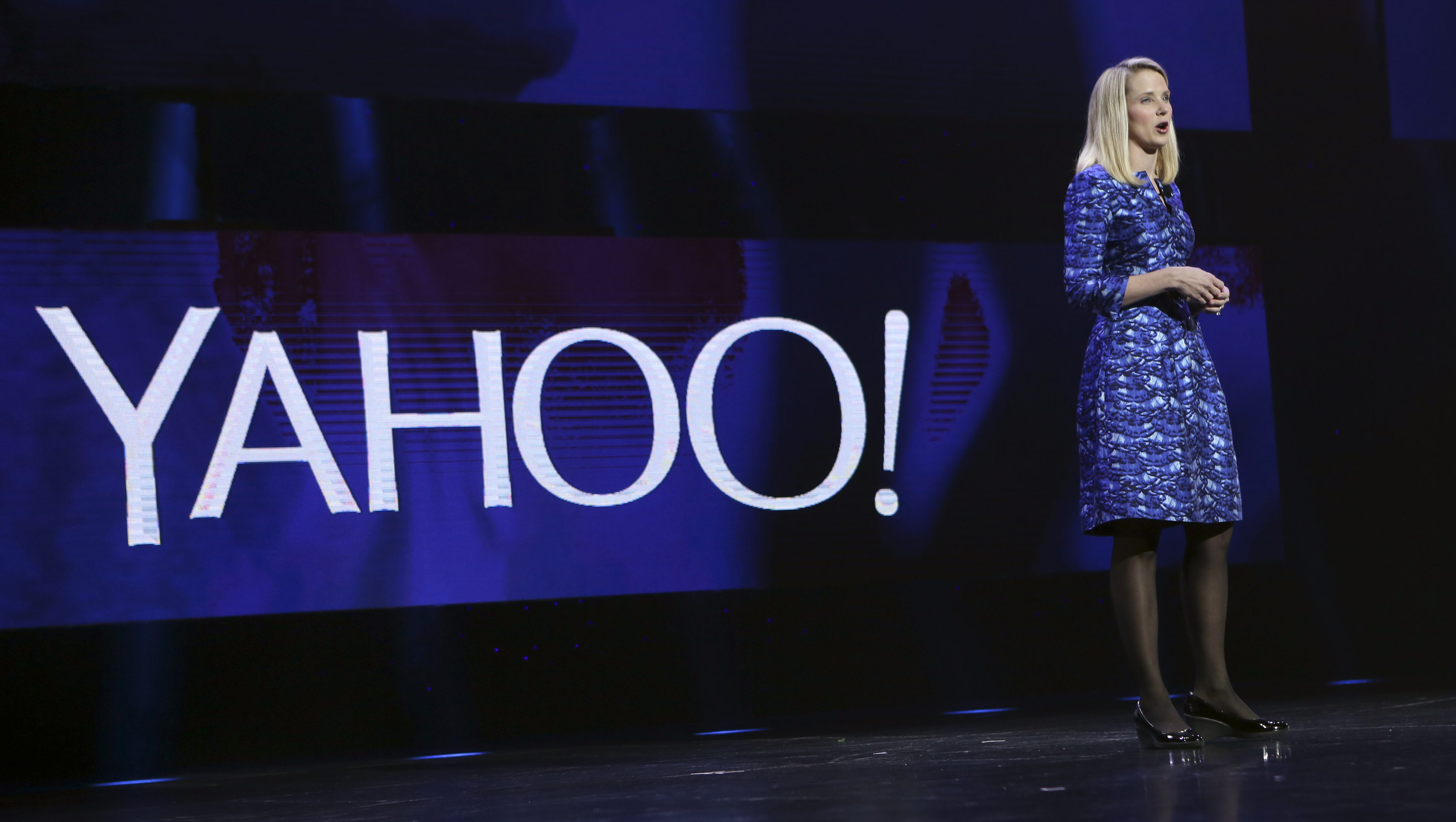 ahoo CEO Marissa Mayer delivers her keynote address at the annual Consumer Electronics Show (CES) in Las Vegas, Nevada January 7, 2014.