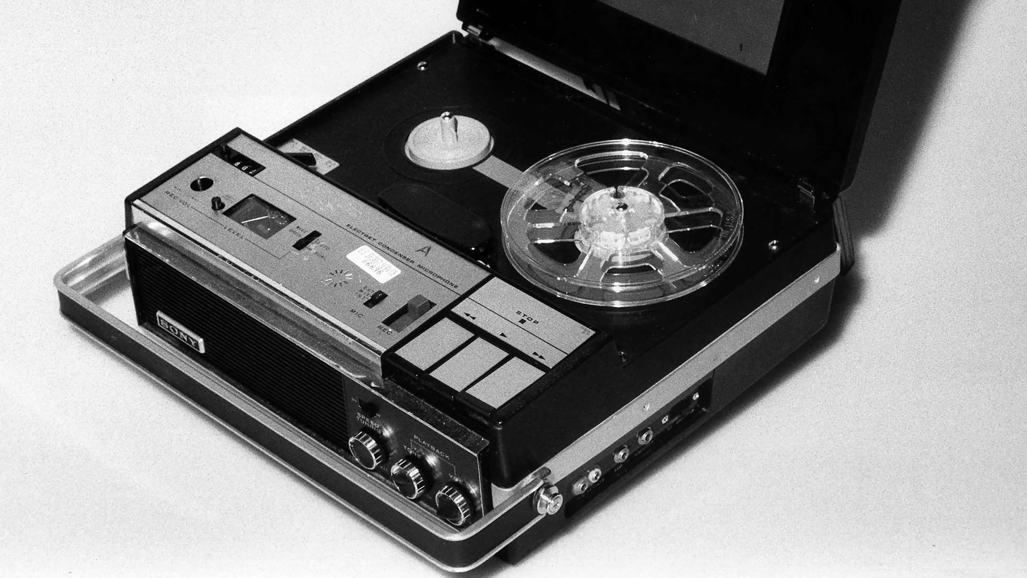 The original Nixon White House tape recorder is shown in an undated handout photo. Decades after the fighting over his tapes began, Richard Nixon is finally getting at least part of his wish. The National Archives, under a court order it had fought for years, on Monday, August 10, 1998 will begin cutting up the original tapes from the Watergate years and returning portions dealing with private matters to the late president's estate.