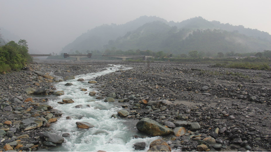The Eze or Deopani river, near Roing. Mirza Zulfiqur Rahman, Author provided Mirza Zulfiqur Rahman, Author provided