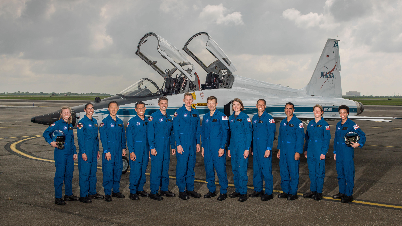 NASA 2017 astronaut class.