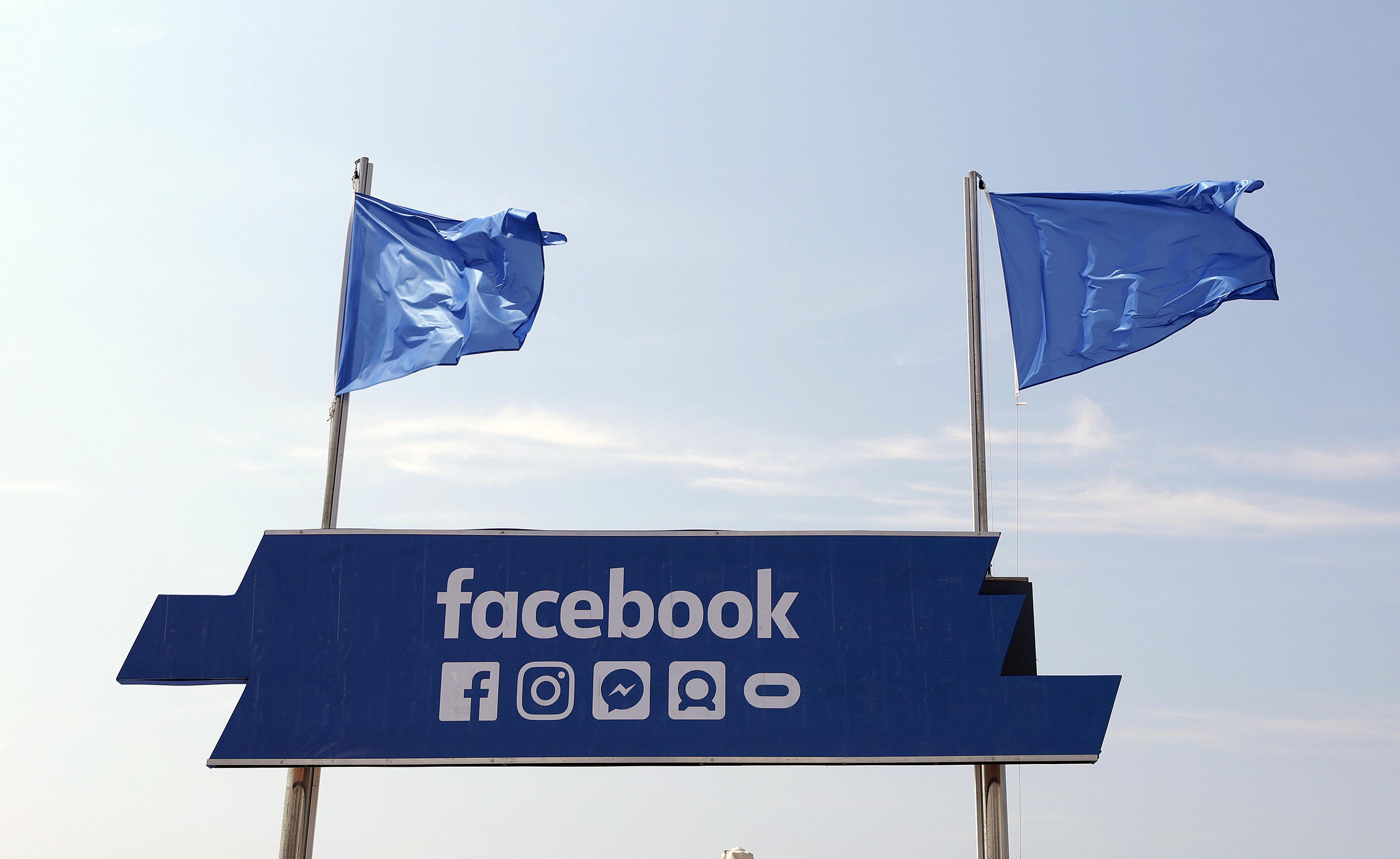 Facebook flags