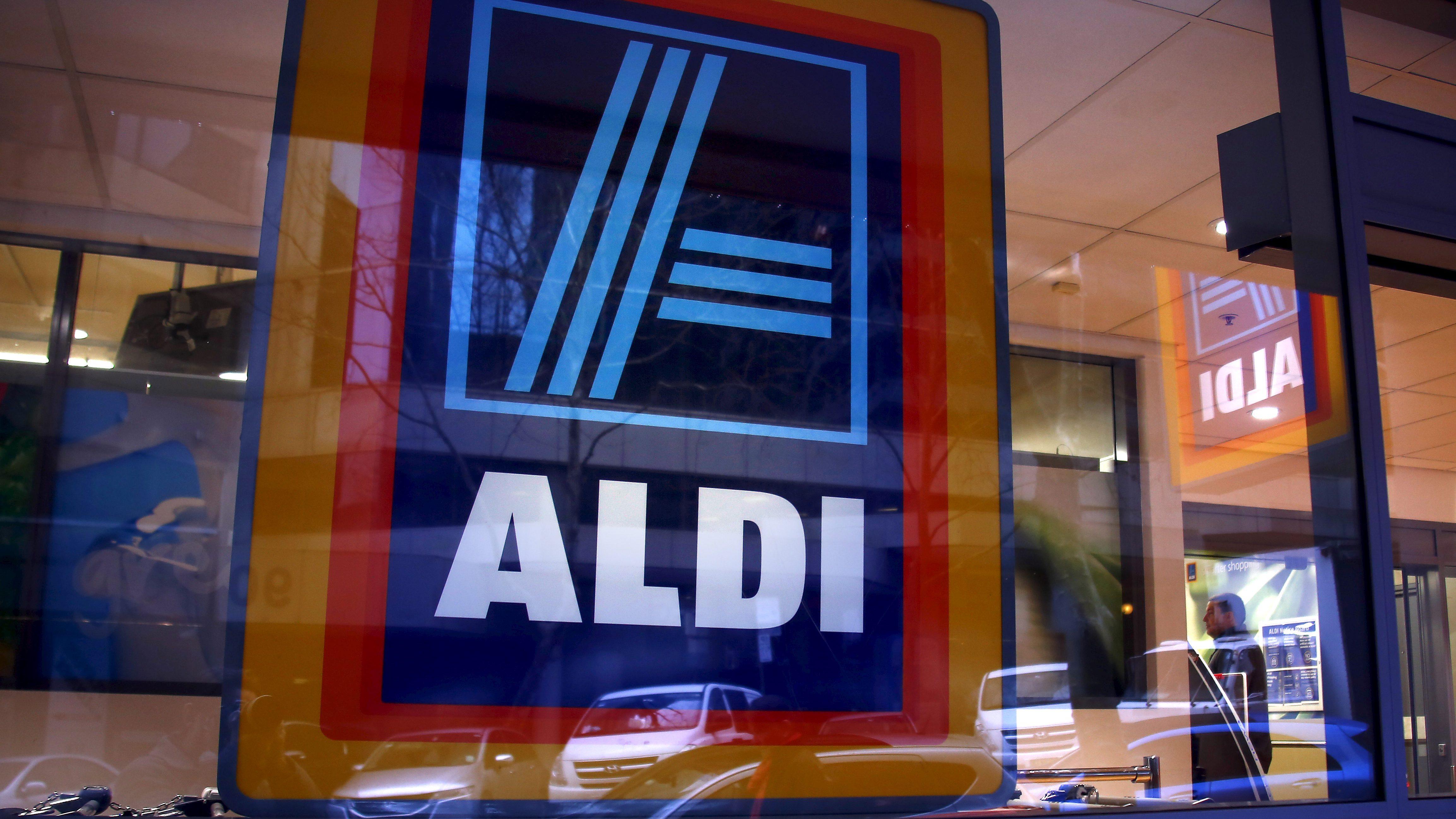 German discount supermarket ALDI in Sydney, Australia, 2015
