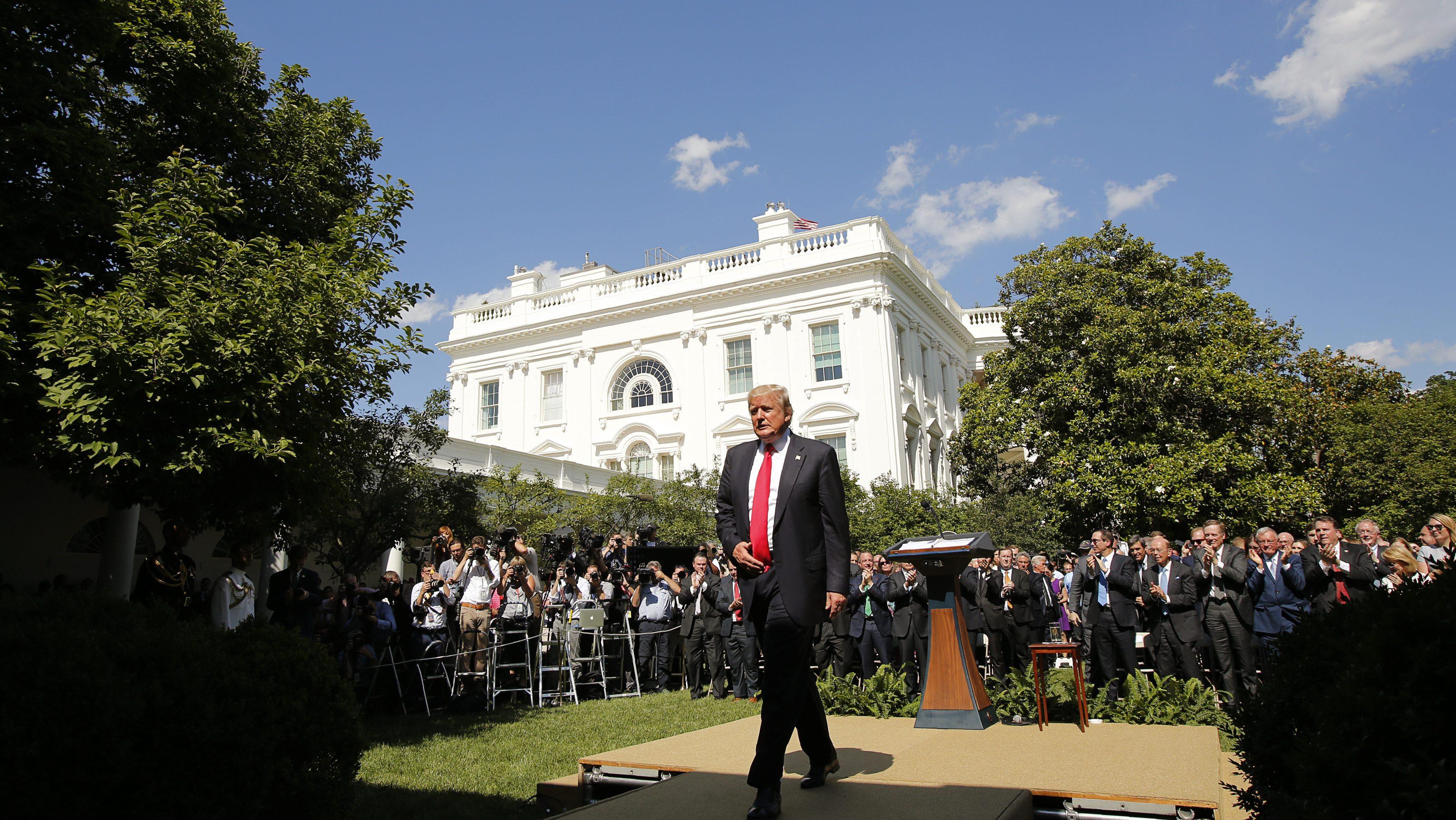 Paris Climate Agreement Donald Trump S