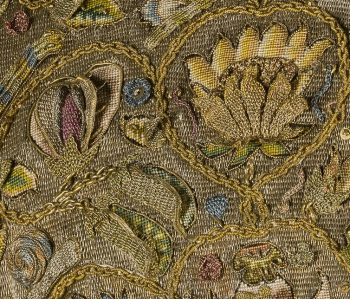 Detail shot of the Devereux bodice