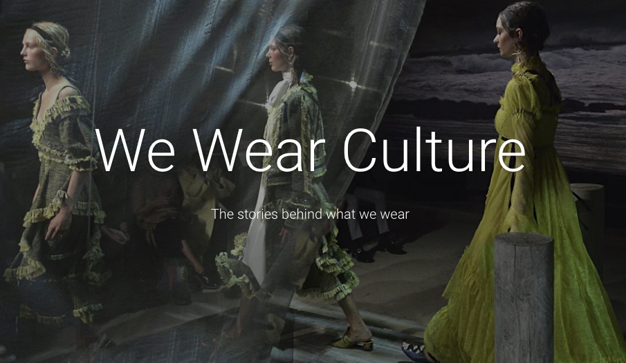 "Google's ""We Wear Culture"""
