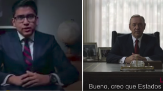 Mexican politician Miguel Angel Covarrubias plagiarized a speech by House of Cards president Frank Underwood
