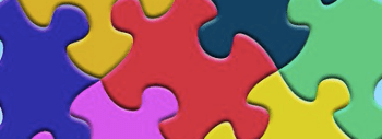 Puzzle pieces.
