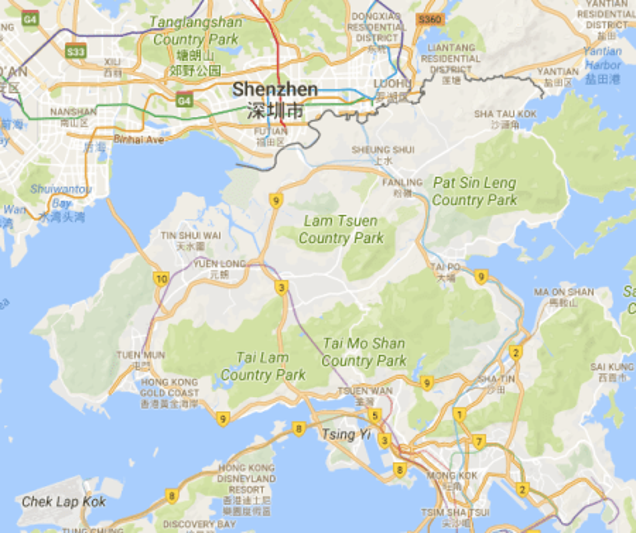 Hong Kong handover: \