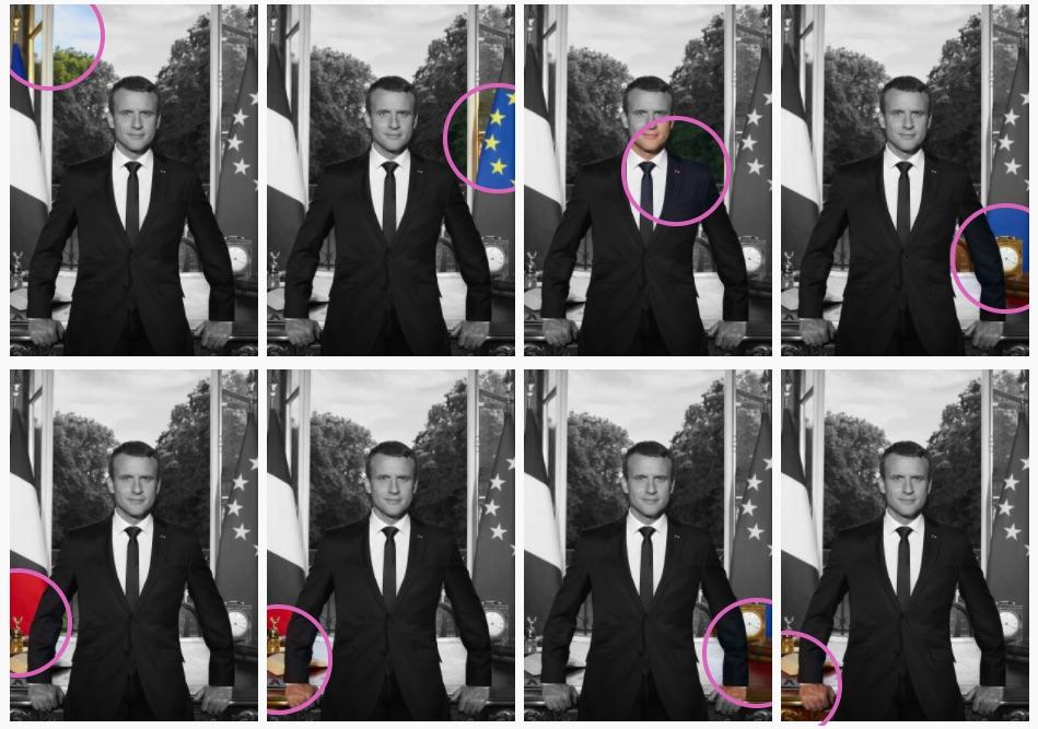 Emmanuel Macron Wedding.Emmanuel Macron S Official Portrait Is A Symbolic Celebration Of