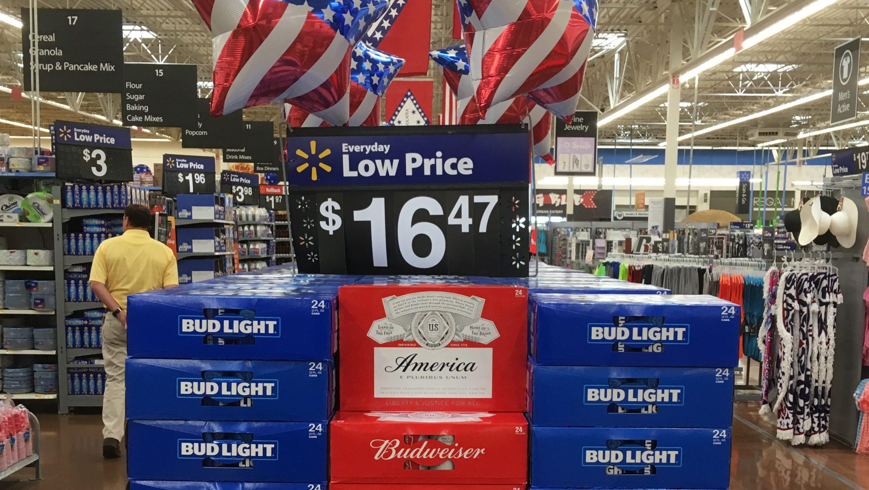 A Walmart SuperCenter in Rigers, Arkansas.