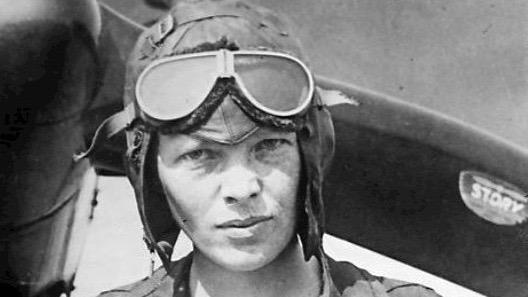 Amelie Earhart 1928.